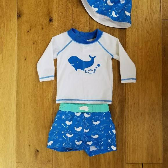e6a3d3498b3 Cat   Jack Other - Cat   Jack Baby Boy Whale Swim Set